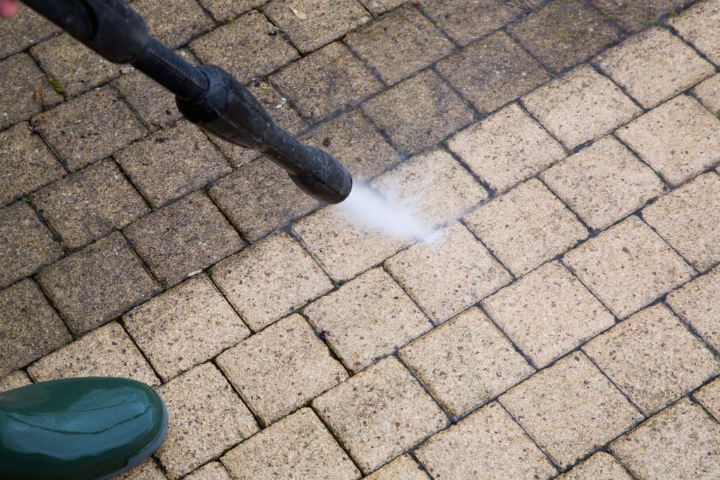 Deck and paver power washing ocean county